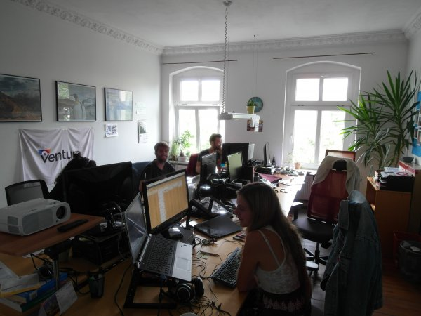 Berlin office - marketing department